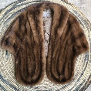 Vintage Eaton's of Canada mink stole